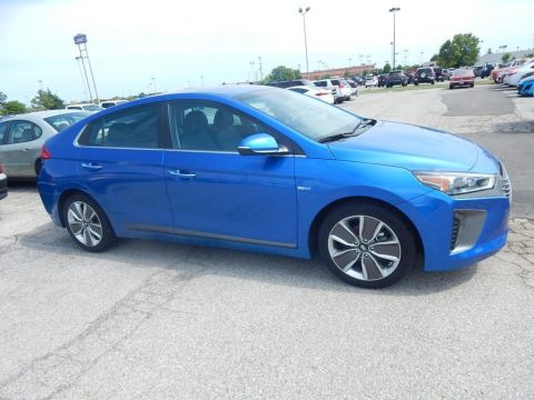 Certified Pre-Owned 2017 Hyundai Ioniq Hybrid Limited
