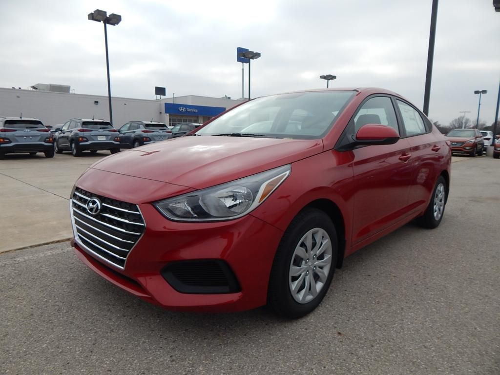 New 2019 Hyundai Accent Se 4d Sedan In Norman Hn11111 Automax